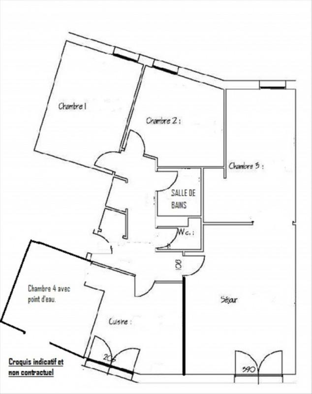 Vente appartement Vanves 462000€ - Photo 10