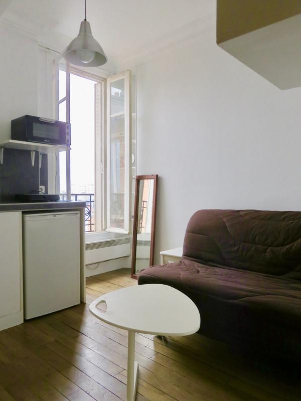 Rental apartment Paris 18ème 540€ CC - Picture 2