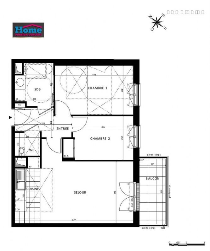 Sale apartment Rueil malmaison 486000€ - Picture 5