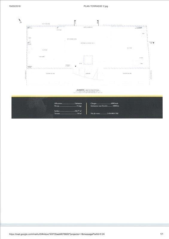Vente de prestige appartement Paris 19ème 2450000€ - Photo 4