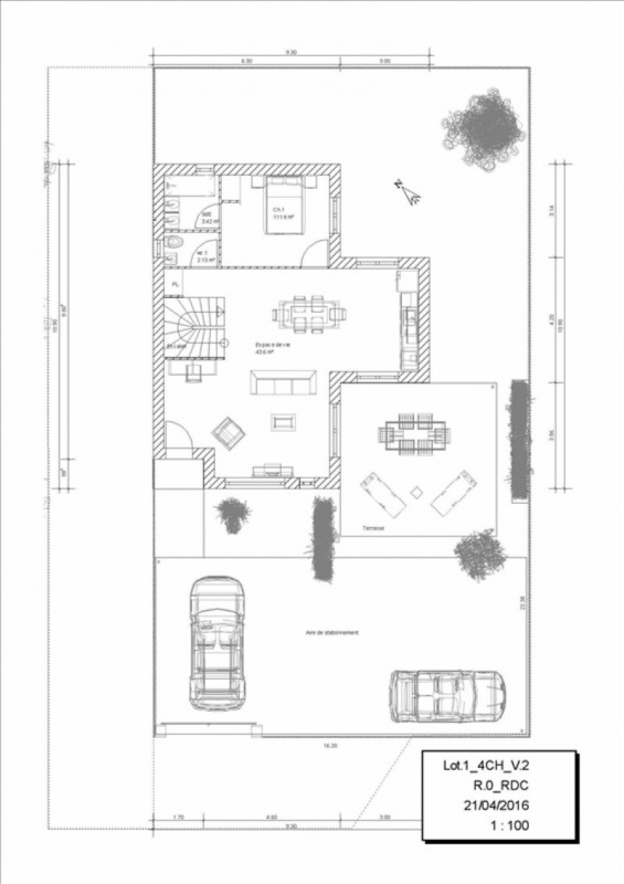 Vente maison / villa Orgeval 440938€ - Photo 2