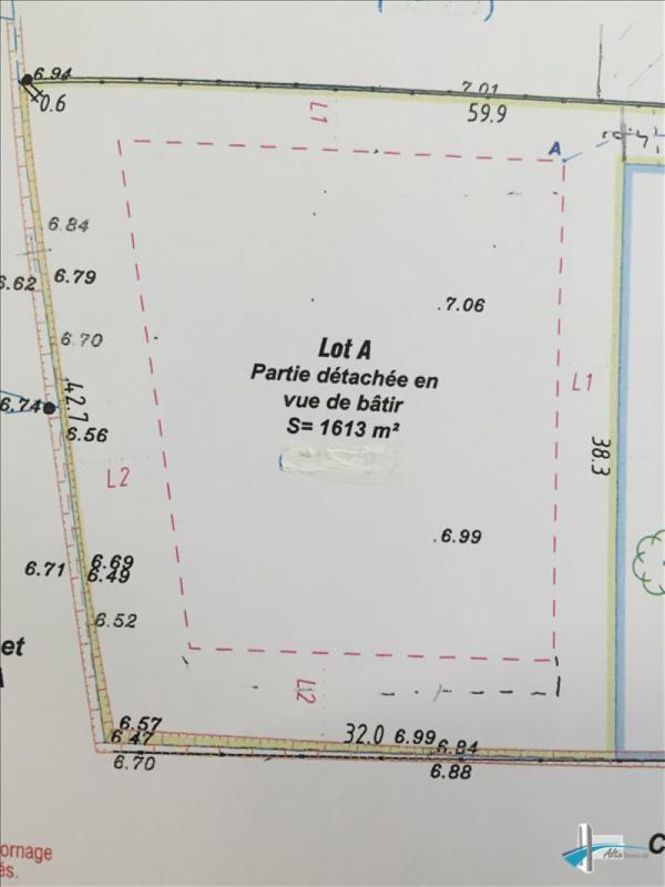 Venta  terreno Ambares et lagrave 147000€ - Fotografía 1