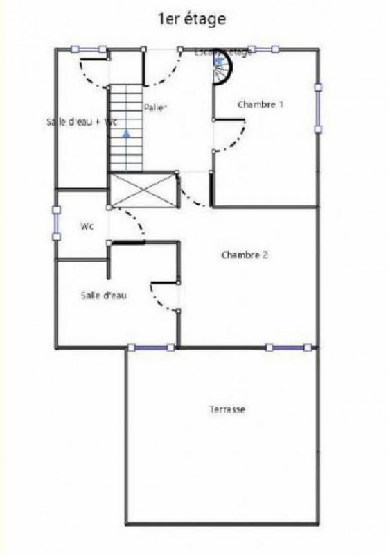Sale house / villa Coye la foret 380000€ - Picture 5