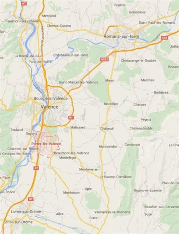 Location Local d'activités / Entrepôt Portes-lès-Valence 0