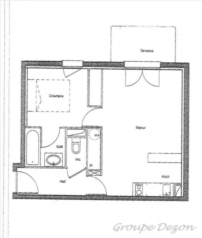 Vente appartement Fenouillet 88000€ - Photo 3
