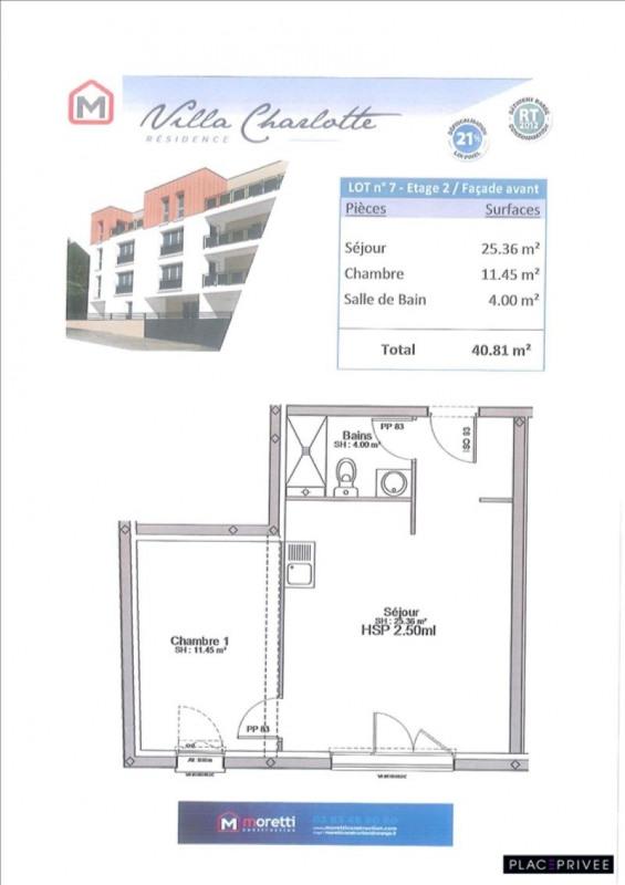 Venta  apartamento St max 140590€ - Fotografía 2