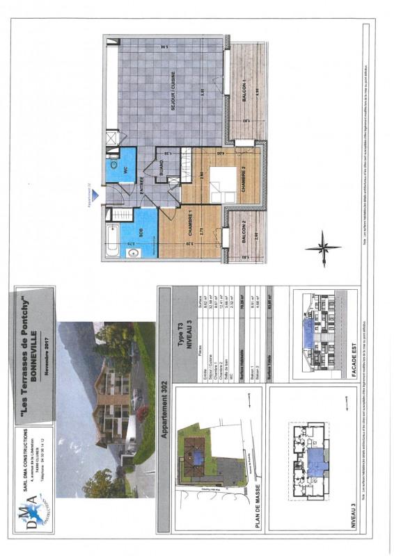 Vente appartement Bonneville 249000€ - Photo 2