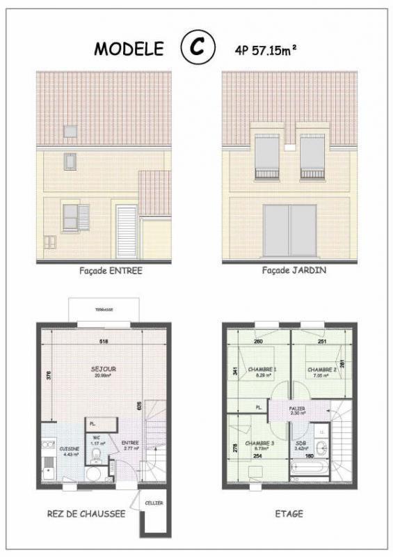 Vente maison / villa Cayeux sur mer 142000€ - Photo 3