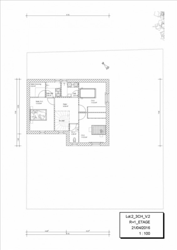 Vente maison / villa Orgeval 407860€ - Photo 3