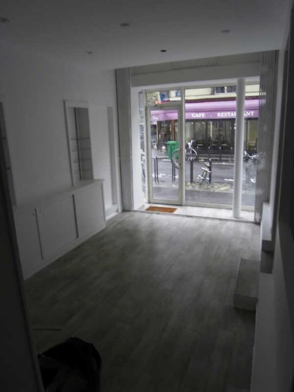 Locação loja Paris 15ème 950€ HT/HC - Fotografia 3