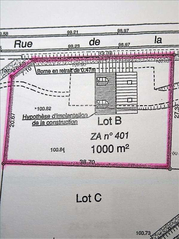 Revenda terreno Proche longnes 95000€ - Fotografia 3