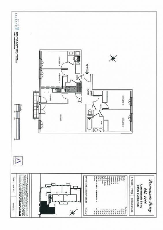 Rental apartment Suresne 2320€ CC - Picture 3
