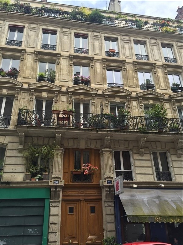 Verkoop  appartement Paris 8ème 190000€ - Foto 1