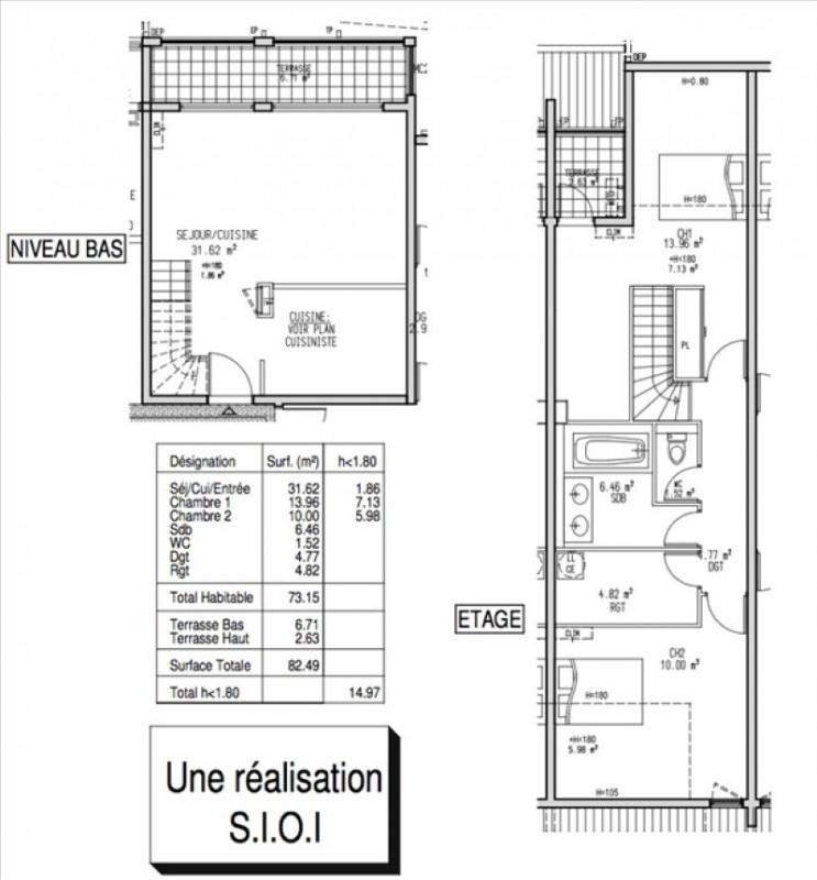 Sale apartment La possession 158000€ - Picture 4