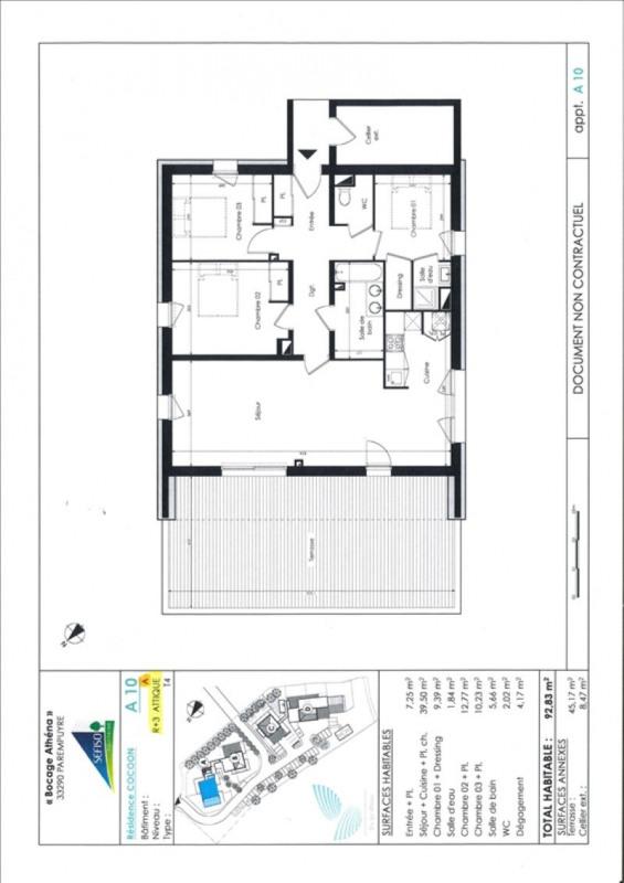 Vente appartement Parempuyre 350000€ - Photo 2