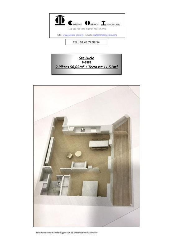 Vente appartement Paris 15ème 540000€ - Photo 17