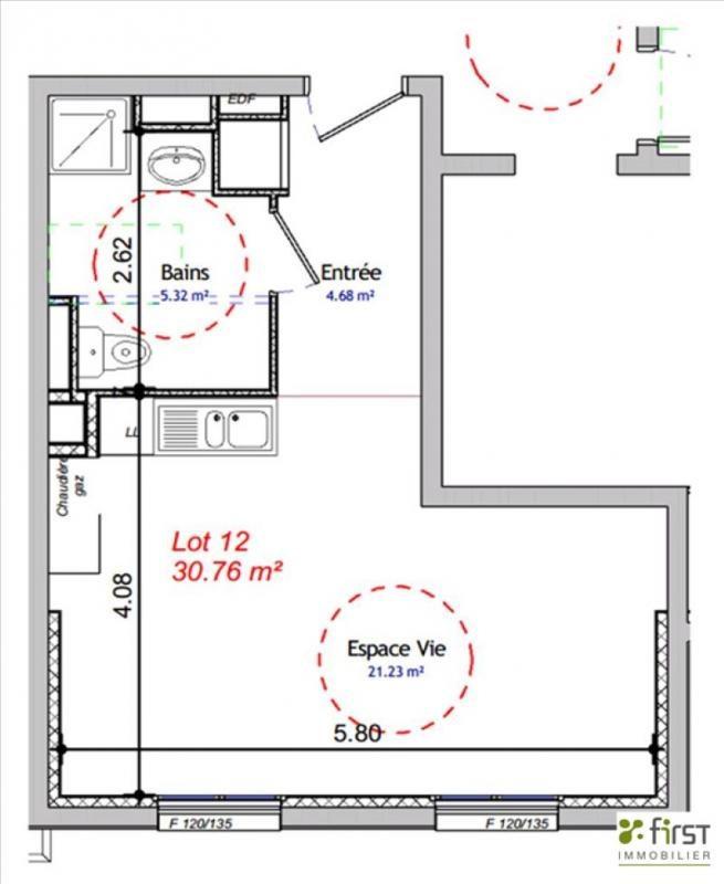 Venta  apartamento Balme de sillingy 134200€ - Fotografía 2