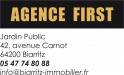 logo AGENCE FIRST