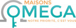 Logo agence MAISONS OMEGA