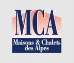 Logo agence M C A / Maisons et Chalets des Alpes