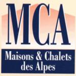 Logo agence MCA Maisons et Chalets des Alpes