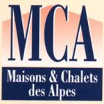 Logo agence MCA  MAISONS & CHALETS DES ALPES