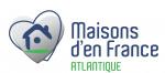 logo Maisons d'en france atlantique la roche sur yon