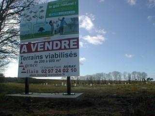 Vente terrain Auray 95480€ - Photo 2