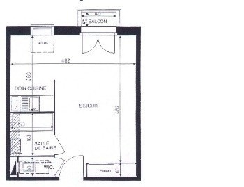 Location appartement Viry chatillon 592€ CC - Photo 2