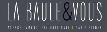 Real estate agency LA BAULE & VOUS in La Baule Escoublac