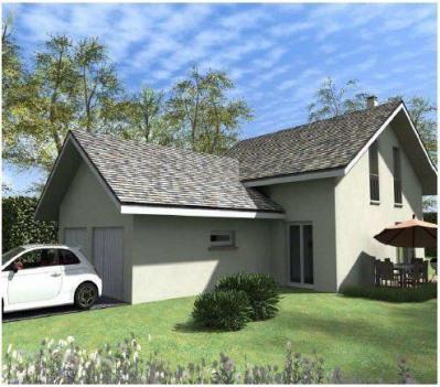 Maison  4 pièces + Terrain 1053 m² Perrignier par CREAVILLA 73