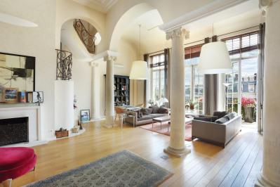 Paris 17th District – An exceptional split-level apartment