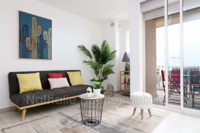 Vente - Appartement 3 pièces - 51,48 m2 - Canet Plage - Photo