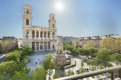 Paris VIe - Place Saint-Sulpice