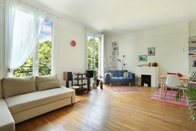 Paris 16th District – A 90 sqm apartment enjoying open views.