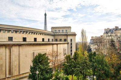 Paris XVIe - Trocadéro - Vue