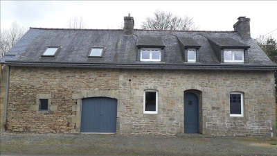 Stone-built property 4 rooms, 87,9 m² - Loguivy Plougras (22780)