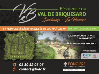 Terrain 300 m² Rambouillet (78120)