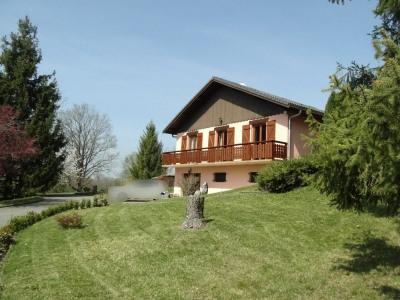 Axe annecy geneve villa sur vaste terrain