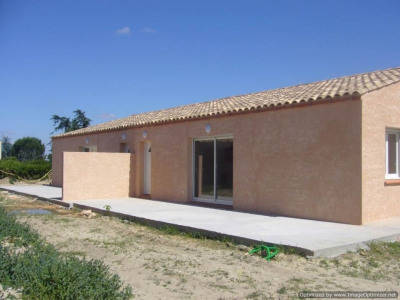 Lot de 4 villas et terrain constructible