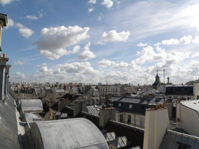 Temporada - Apartamento 3 assoalhadas - 84 m2 - Paris 4ème - Vue du salon - Photo