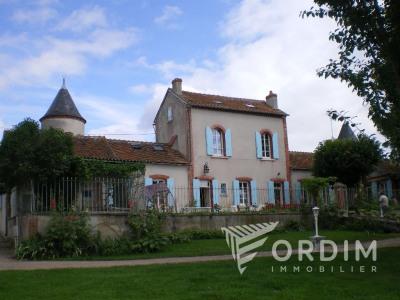 Maison Neuvy Sur Loire 9 pièce (s) 200m² sur 4 hectares