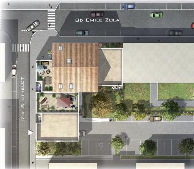 Appartement de type 3 de 59m² sur oullins