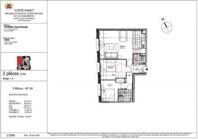 Sale apartment Suresnes 440000€ - Picture 2
