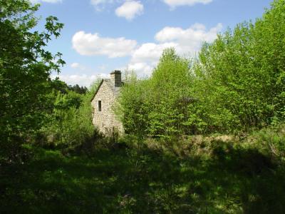 Fermette à rénover dans site naturel sans nuisances