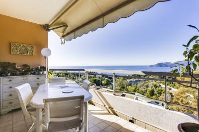 Dernier étage Vue Mer Panoramique Cannes Croix des Gardes Cannes