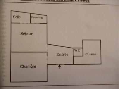 Appartement Paris - 2 pièce (s) - 40 m²