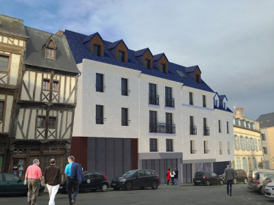Une résidence d'exception au coeur du centre ville de Laval livré en 2019.
