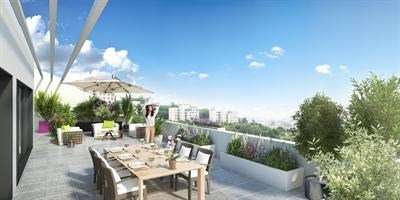 Magnifique programme immobilier neuf Lyon 5 Saint Just Trion