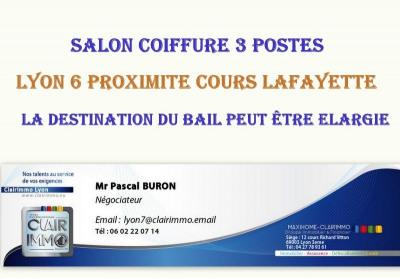Fonds de commerce  Lyon 3ème